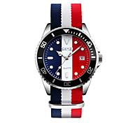 Недорогие -SKMEI Муж. Для мужчин Модные часы Наручные часы Японский Кварцевый Календарь Защита от влаги Материал Группа Cool Разноцветный