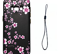 For Samsung Galaxy S8 Plus S8 Case Cover Plum Blossom Pattern Fuel Injection Relief Plating Button Thicker TPU Material Phone Case S7 S6 Edge