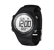 мужской моды случайные цифровые часы 30m водонепроницаемый цифровой двойной время секундомер на открытом воздухе спорта наручные часы Ezon