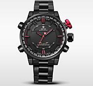 WEIDE Муж. Спортивные часы Армейские часы Японский Цифровой Японский кварц LED Календарь Защита от влаги С двумя часовыми поясами тревога