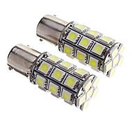 cheap -2Pcs 1156 27*5050SMD LED Car Light Bulb White Light DC12V