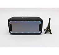 cheap -Mini LED Light Bluetooth 2.1 3.5mm AUX Wireless bluetooth speaker Black Silver Crimson Light Blue