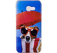 Для Samsung Galaxy a3 a5 (2017) крышка для случая с собакой модель hd окрашенный материал tpu imd кейс для телефона a7 (2017) a3 a5 (2016)