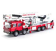 Недорогие -Игрушки Строительная техника Игрушки Квадратный Пожарные машины Металл Куски Детские Мальчики Подарок