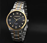 cheap -CHENXI® Men's Dress Watch Quartz Japanese Quartz Water Resistant Casual Watch Stainless Steel Band Charm Black