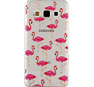 Для samsung galaxy a3 a5 (2017) чехол фламинго картина падение клей лак высокое качество тпу материал чехол для телефона a3 a5