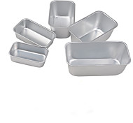 5 pieces /set Big size & medium size Toast cake pan non stick cake mould food grade carbon steel FDA