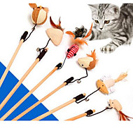 Cat Cat Toy Pet Toys Interactive Teaser Durable Fabric Plastic For Pets