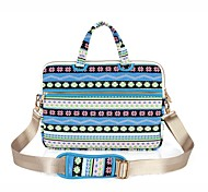 cheap -13.3 14.1 15.6 inch Snowflakes Pattern Laptop Shoulder Bag with Strap Hand Bag for Surface/Dell/HP/Samsung/Sony etc