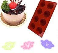 baratos -Molde em botão para Candy Gelo Chocolate Bolo Pão Silicone Faça Você Mesmo Alta qualidade Anti-Aderente