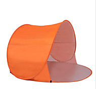 2 человека Световой тент Тент для пляжа Один экземляр Палатка Однокомнатная Водонепроницаемость Компактность С защитой от ветра