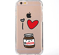 abordables -Funda Para Apple iPhone X iPhone 8 Transparente Diseños Cubierta Trasera Caricatura Suave TPU para iPhone X iPhone 8 Plus iPhone 8 iPhone
