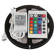 Недорогие -Гибкие светодиодные ленты Наборы ламп RGB ленты DC12 5 светодиоды RGB