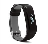 P1 ip67 impermeabile braccialetto astuto del bluetooth del pedometro di movimento di controllo di sonno della pressione sanguigna