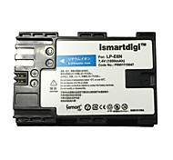 cheap -Ismartdigi LPE6N Camera Battery for Canon Eos 90D 80D 70D 60D 5D4 5D3 5D2 5D 7D