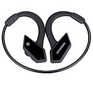 Наушник hyundai для спортивной фитнеса ушной крючок bluetooth v4.1 с регулятором громкости микрофона и шумоподавлением