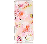 cheap -For Sony Xperia XZ Premium XA Case Cover Flower Pattern Painted Relief High Penetration TPU Material Phone Case XA1 E5