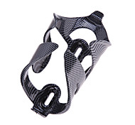 Black Carbon Fiber Pattern Bicycle Bike Cycling Carbon Water Bottle Cage Holder Mountain Bike Water Bottle Support