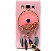 For Samsung Galaxy A3 A5 (2017) Case Cover High Penetration TPU Material Wind Chimes Flash Powder Quicksand Diamond Phone Case A7 (2017) A3 A5 (2016)