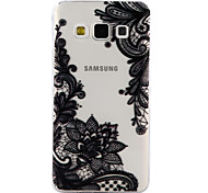 For Samsung Galaxy A3 A5 (2017) Case Cover Lace Printing Pattern Drop Glue Varnish High Quality TPU Material Phone Case A3 A5