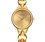 Women's Wrist watch Bracelet Watch Quartz Alloy Band Charm Silver Gold Rose Gold
