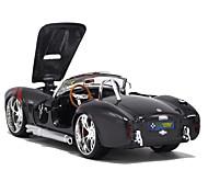 abordables -Coches de juguete Maqueta de coche Moto Juguetes Artículos de decoración Simulación Rectangular Airete Terra Aleación de Metal Piezas No