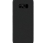Funda Para Samsung Galaxy S8 Plus S8 Ultrafina Diseños Cubierta Trasera Color sólido Dura Fibra de Carbono para S8 S8 Plus S7 edge S7