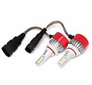 9005 LED Car Headlight Kit Bulbs 36W 7200LM LED Conversion Kit 12v-24v Replace for Halogen Lights or HID Bulbs 6500K