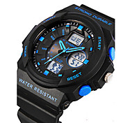 Men's Digital Watch Wrist watch Fashion Watch Digital Rubber Band Black