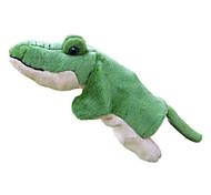 Недорогие -Марионетки Пальцевые куклы Игрушки Под крокодила Милый стиль Милый Плюшевая ткань Плюш Для детей Куски