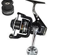 Metal Seat Fishing Reel Spinning Reels 5.51  13 Ball Bearings Exchangable Sea Fishing Bait Casting Spinning Jigging Fishing Freshwater Fishing