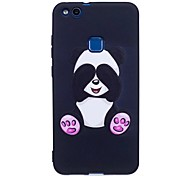 Per huawei p10 lite p9 lite copertura caso panda modello copertura posteriore soft tpu p8 lite 2017