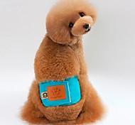 Недорогие -Собака Брюки Одежда для собак На каждый день Сплошной цвет Оранжевый Зеленый Синий Розовый