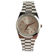 Недорогие -Жен. Модные часы Японский Кварцевый / сплав Группа Повседневная Элегантные часы Серебристый металл