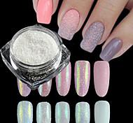 2g*5 box Nali Art Decorations Sets Shinning Holographic Sugar Powder UV GEl Polish Nail Glitter Dust Candy Colors