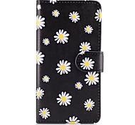 Fall für Samsung Galaxy Grand Prime on7 (2016) Fall decken die kleinen weißen Blüten Muster PU Ledertaschen für on5 (2016)