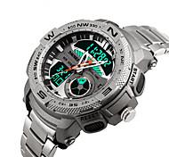 preiswerte -Smart Watch Wasserdicht Langes Standby Multifunktion Sport Stoppuhr Wecker Chronograph Kalender Duale Zeitzonen Other Keine SIM-Kartenslot