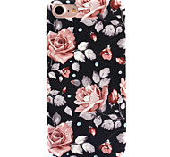 cheap -Case For Apple iPhone 8 iPhone 8 Plus Pattern Back Cover Flower Hard PC for iPhone 8 Plus iPhone 8 iPhone 7 Plus iPhone 7 iPhone 6s Plus