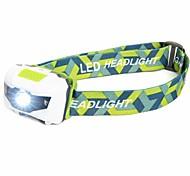 Stirnlampen Schweinwerfer LED 500 Lumen 4.0 Modus LED Batterien nicht im Lieferumfang enthalten Wasserfest Leichtes Gewicht Notfall Super