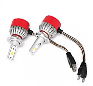 cheap -2pcs H7 Car Light Bulbs 36W Integrated LED 3600lm LED Headlamp