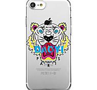 Для iphone 7 плюс 7 чехол для крышки экологически чистый прозрачный узор задняя крышка чехол для животных мультфильм мягкий tpu для iphone