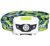 Lampes Frontales LED 500 Lumens 4.0 Mode LED Batteries non incluses Imperméable Urgence Ultra léger pour Camping/Randonnée/Spéléologie