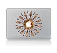 Недорогие -1 ед. Защита от царапин геометрический Прозрачный пластик Стикер для корпуса Узор ДляMacBook Pro 15'' with Retina MacBook Pro 15 ''