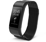 S18 Smart Wristband Blood Pressure Heart Rate Bracelet Movement Pedometer Sleep Blood Pressure Altitude APP Android I0S Waterproof IP54