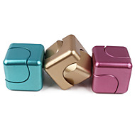 "cheap -Spinning Top Toys Stress and Anxiety Relief Office Desk Toys 1 ¼"" Square ABS Pieces Gift"