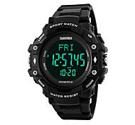 Недорогие -Муж. Цифровой электронные часы Уникальный творческий часы Наручные часы Смарт Часы Спортивные часы Китайский Календарь Секундомер