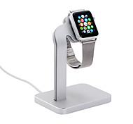 Стойка для часов coteetci для серии часов для яблока 1 2 алюминиевая подставка 38 мм / 42 мм кабель не включает