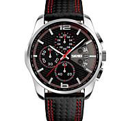 Herrn Modeuhr Armbanduhr Einzigartige kreative Uhr Sportuhr Kleideruhr Chinesisch Quartz Kalender Chronograph Herzschlagmonitor