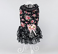 Dog Dress Dog Clothes Party Casual/Daily Princess