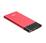 Teclast®  T100UC-R 10000mAh LED Power Bank 5V 2.1A External Multi-Output with Cable Automatic Adjusted Curren